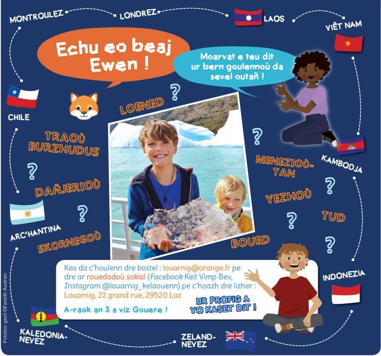 Le voyage d'Ewen autour du monde